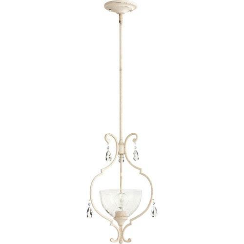Acacia White One-Light Pendant