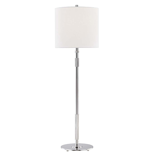 Blake Polished Nickel One-Light Table Lamp