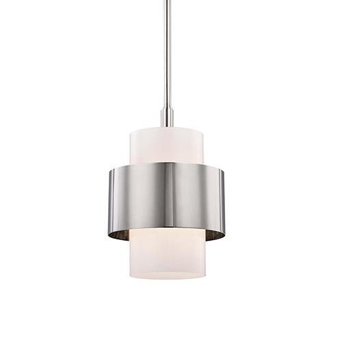Marli Polished Nickel One-Light Pendant