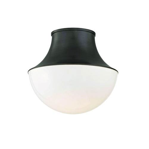 Viviane Old Bronze 15-Inch LED Flush Mount