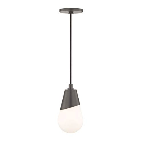 Wes Old Bronze Five-Inch One-Light Mini Pendant