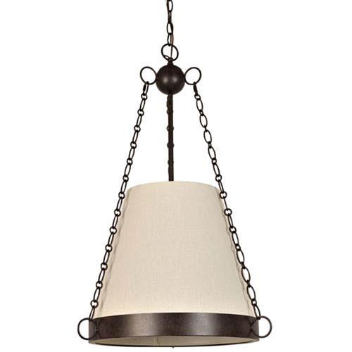 Mill & Mason Crawford Charcoal Bronze Six-Light Pendant