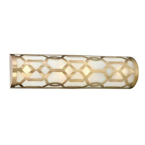 Darling Aged Brass LED Vanity
