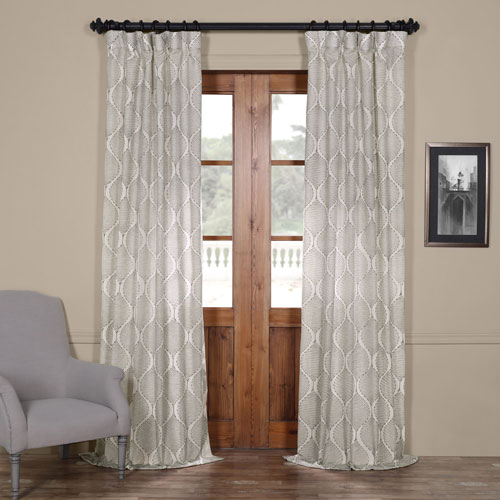 Dreamweaver Taupe 108 x 50-Inch Curtain Single Panel