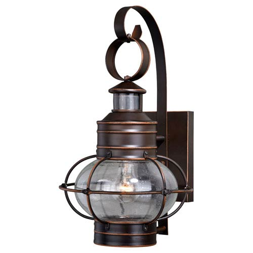 Vaxcel Chatham Burnished Bronze 18-Inch One-Light Outdoor Wall Mount