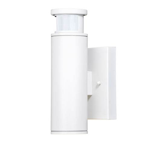 Chiasso Textured White LED Outdoor Wall Mount
