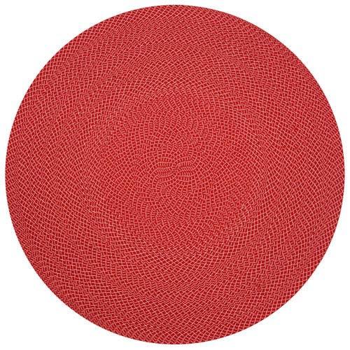 Wylie Red Round: 7 Ft. 9-Inch x 7 Ft. 9-Inch Round Rug