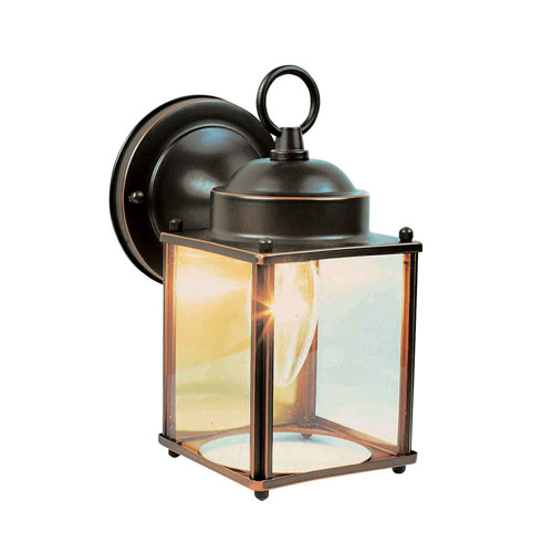 Design House Coach Oil Rubbed Bronze Outdoor Wall Mounted Light