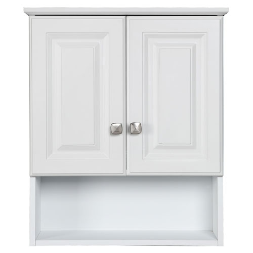 Design House Wyndham White Semi Gloss Bathroom Wall Cabinet 531715