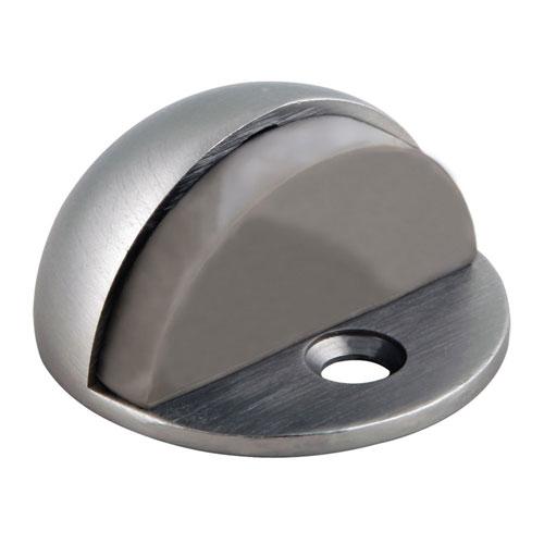 Satin Nickel Floor Mounted Dome Shaped Door Stop