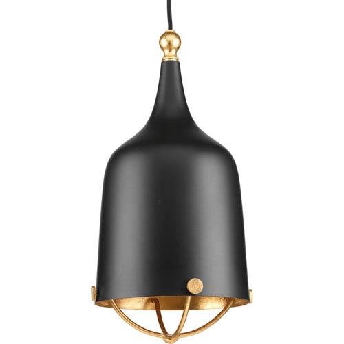 P500033-031: Era Black One-Light Mini Pendant