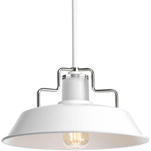 P500034-030: Archives White One-Light Pendant