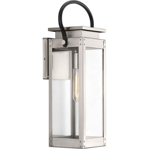 P560005-135: Union Square Stainless Steel One-Light Outdoor Wall Mount