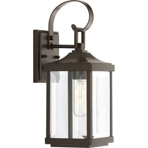 P560021-020: Gibbes Street Antique Bronze One-Light Outdoor Wall Mount