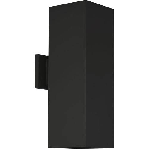 P5644-31-30K: Black Two-Light LED Outdoor Wall Mount