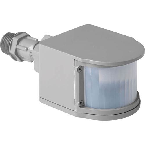 Progress Lighting P6345-82: Security Metallic Gray One-Light LED Outdoor Motion Sensor