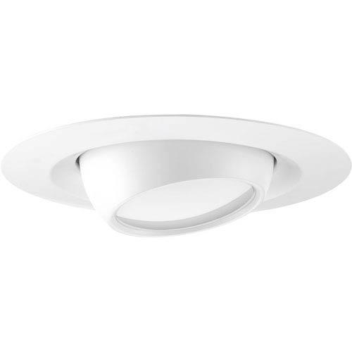 P8076-28-30K: LED Recessed Satin White Energy Star One-Light LED Recessed Light