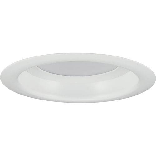 P8080-28-30K: LED Recessed Satin White Energy Star One-Light LED Recessed Light