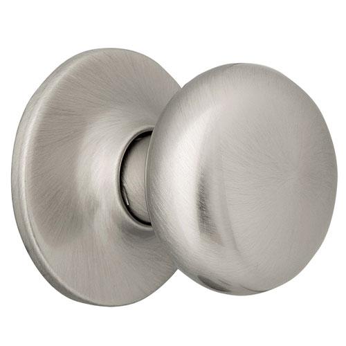 Design House Cambridge Satin Nickel Reversible Dummy Door Knob