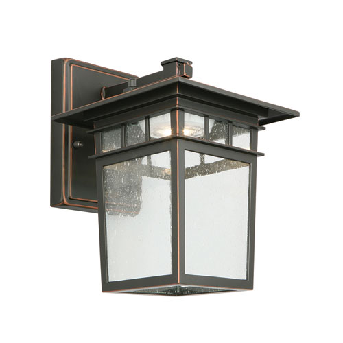 Design House Dayton LED Outdoor Wall Light Oil Rubbed Bronze