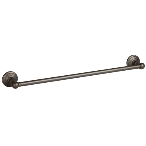 bronze towel bar. Calisto Oil Rubbed Bronze 24-Inch Towel Bar E