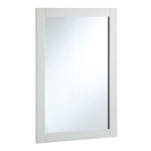 White Gloss Mirror   Bellacor
