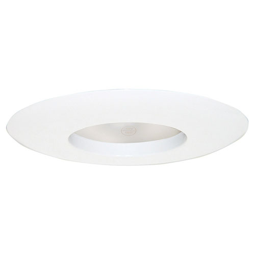Design House White 6-Inch Recessed Lighting Wide Ring Trim