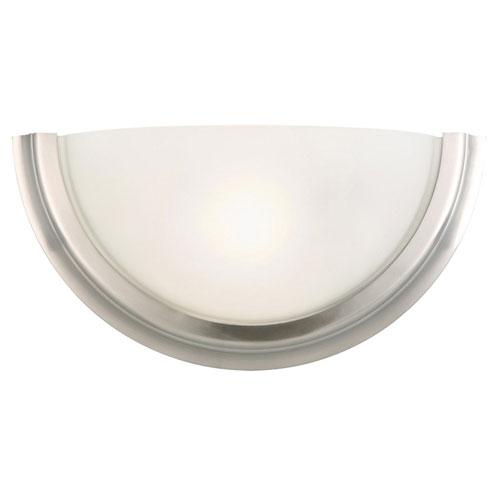 Design House Fairfax Satin Nickel Single-Light Wall Sconce