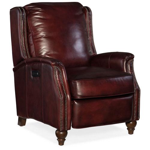 Hooker Furniture Bran Power Recliner with Power Headrest
