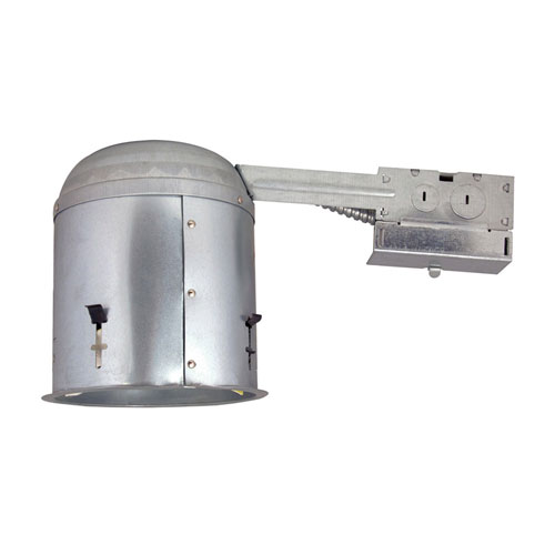 Steel 6-Inch Recessed Lighting Housing for Remodel