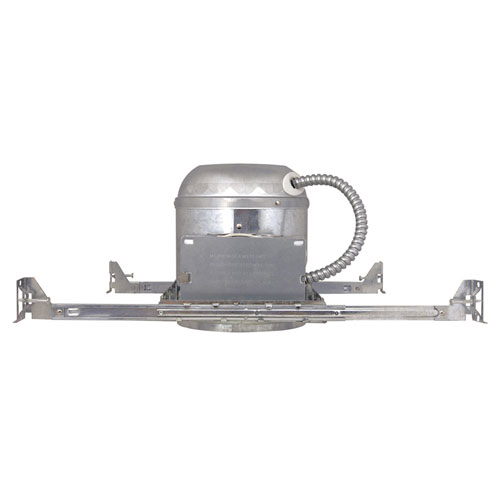 Steel 6-Inch Recessed Lighting Housing for New Construction