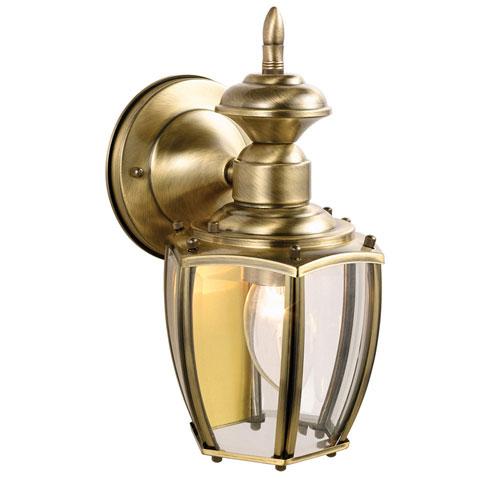 Jackson Antique Brass Outdoor Downlight