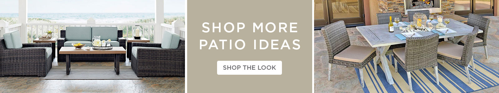 Shop More Patio Ideas