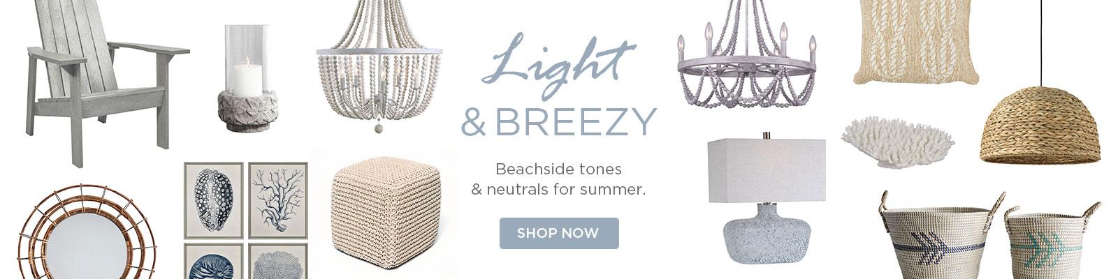 Light & Breezy: Beachside Tones & Neutrals For Summer