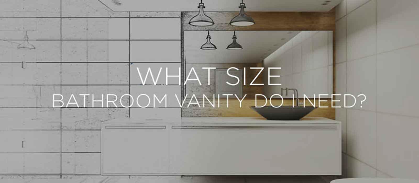 Size of Bathroom Vanity