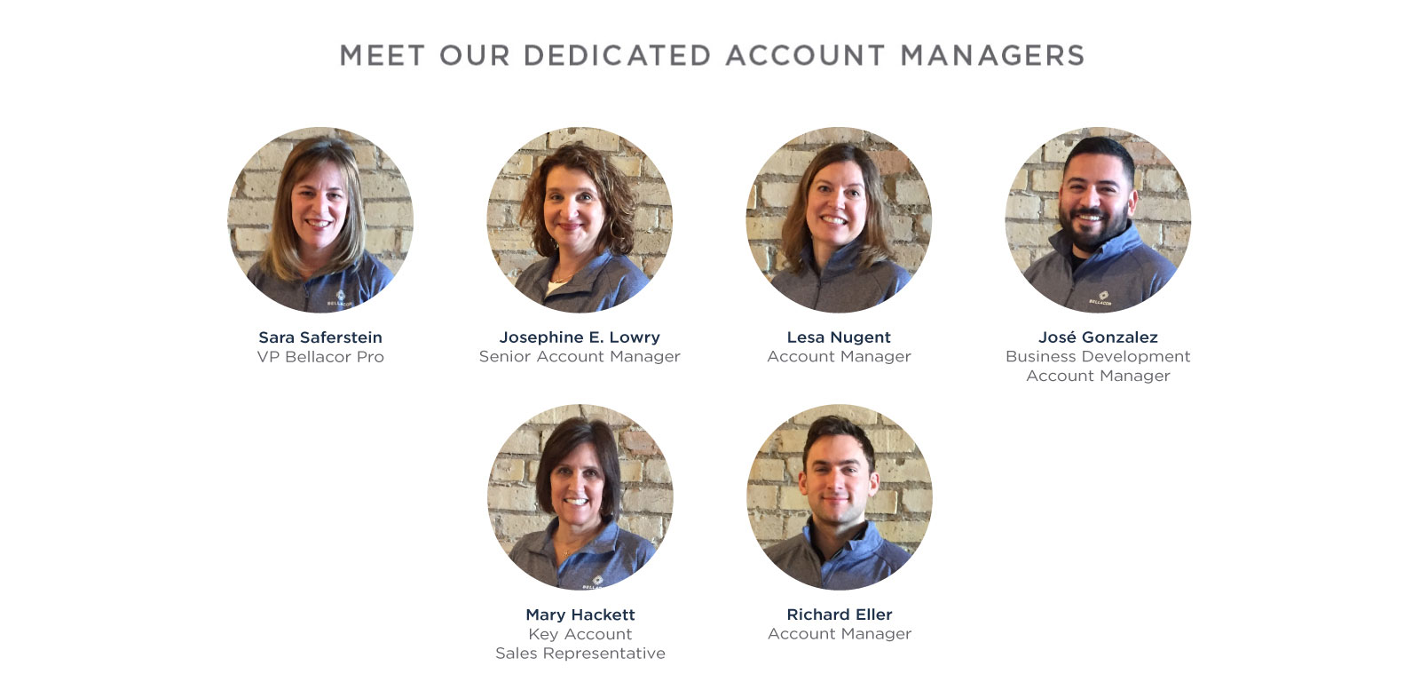 PRO Team of Dedicated Account Managers