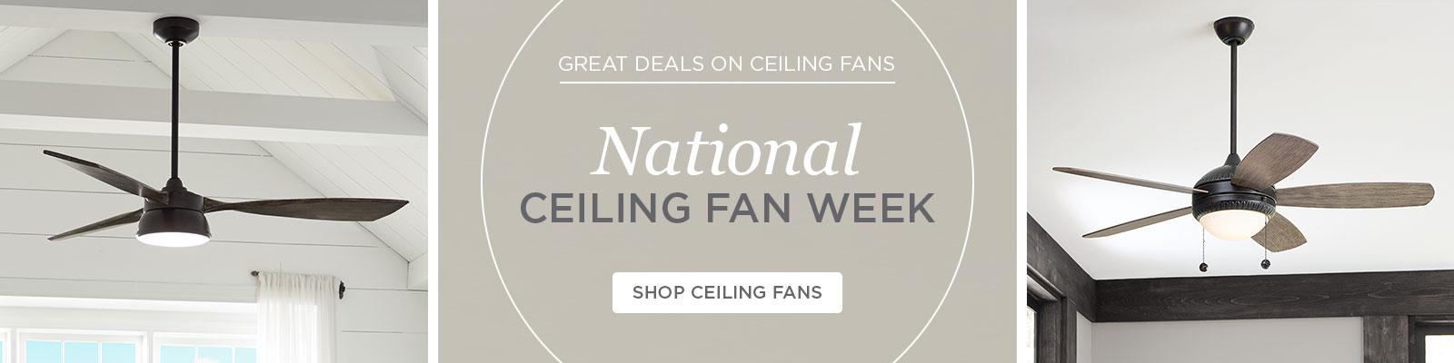 Ceiling Fans Week