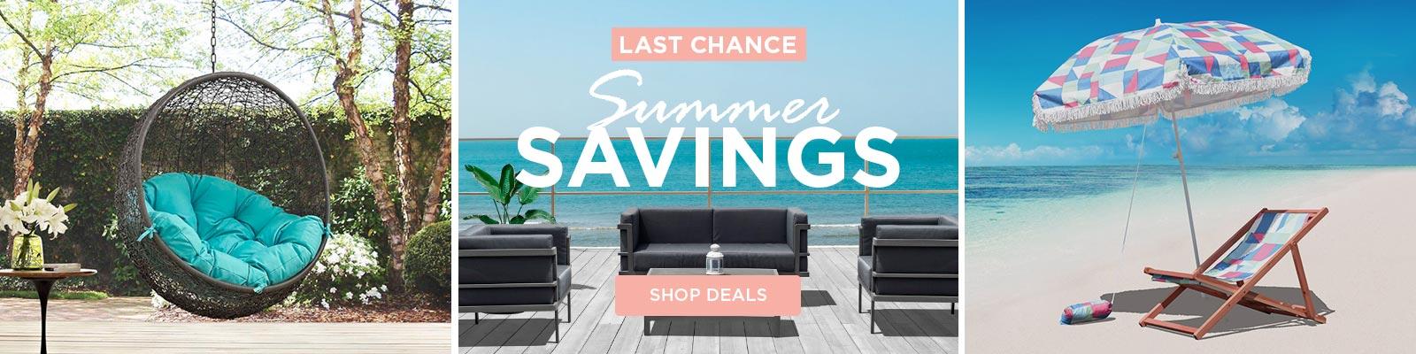 Last Chance Summer Savings