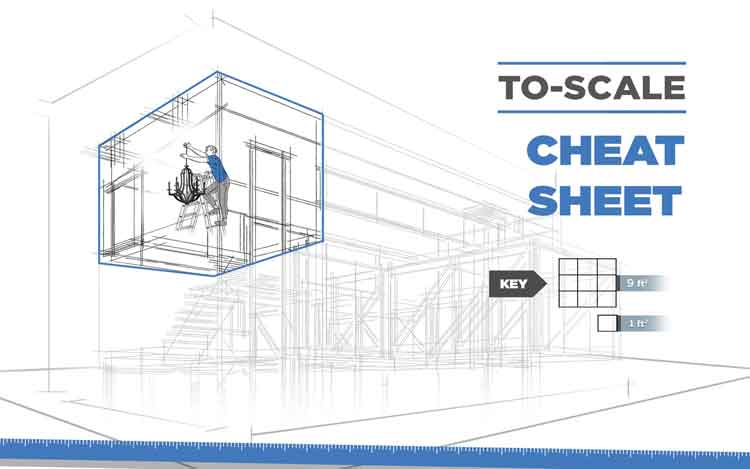 Cheat Sheet to Scale Chandelier Height