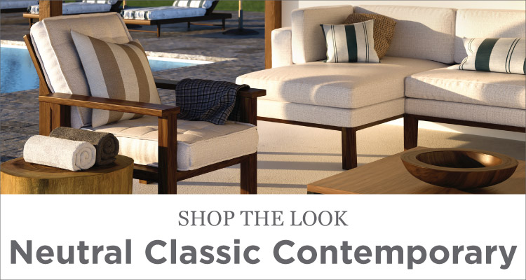 Room Ideas - Patio - Neutral Classic Contemporary