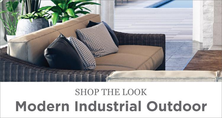 Room Ideas - Patio - Modern Industrial Outdoor