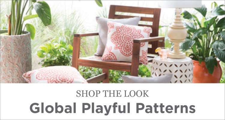 Room Ideas - Patio - Global Playful Patterns