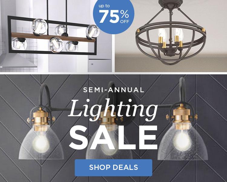 Semi Annual Lighting Sale