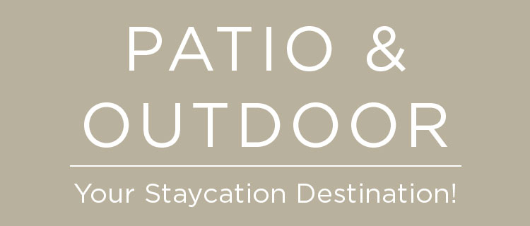 Patio and Outdoor Staycation Destination