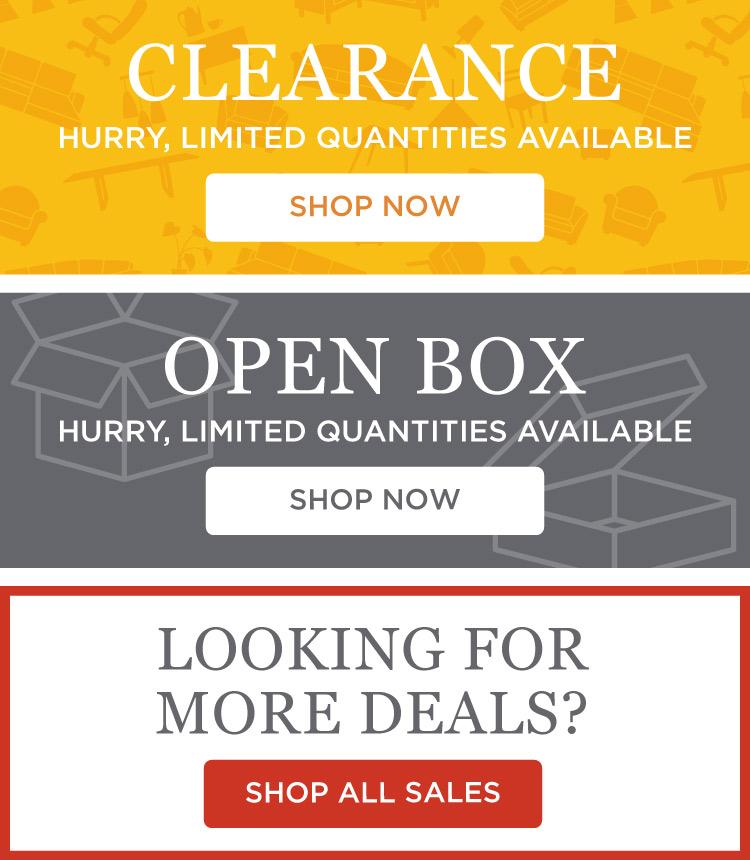 Clearance & Open Box & All Deals