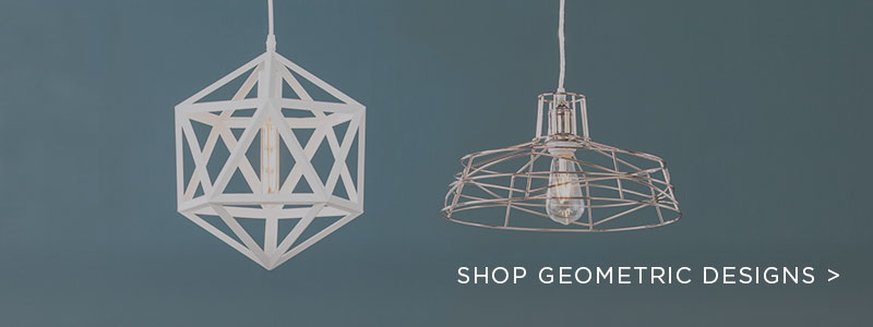 Geometric Lighting & Decor