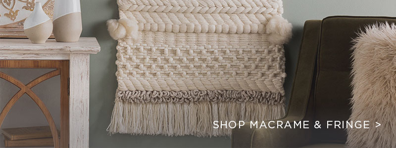 Fringe & Macrame Home Decor