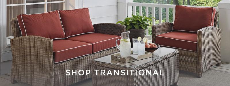Shop Transitional Decor Style