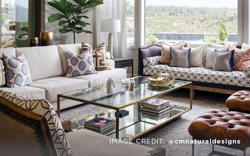 Luxurious Geometric Living Room