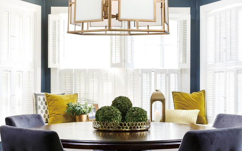 Luxe Transitional Dining Room